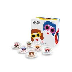 Espressokopjes van Olimpia Zagnoli - 6 kopjes