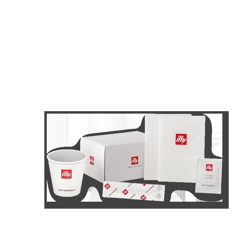 Koffiepauze kit - 200 consumpties