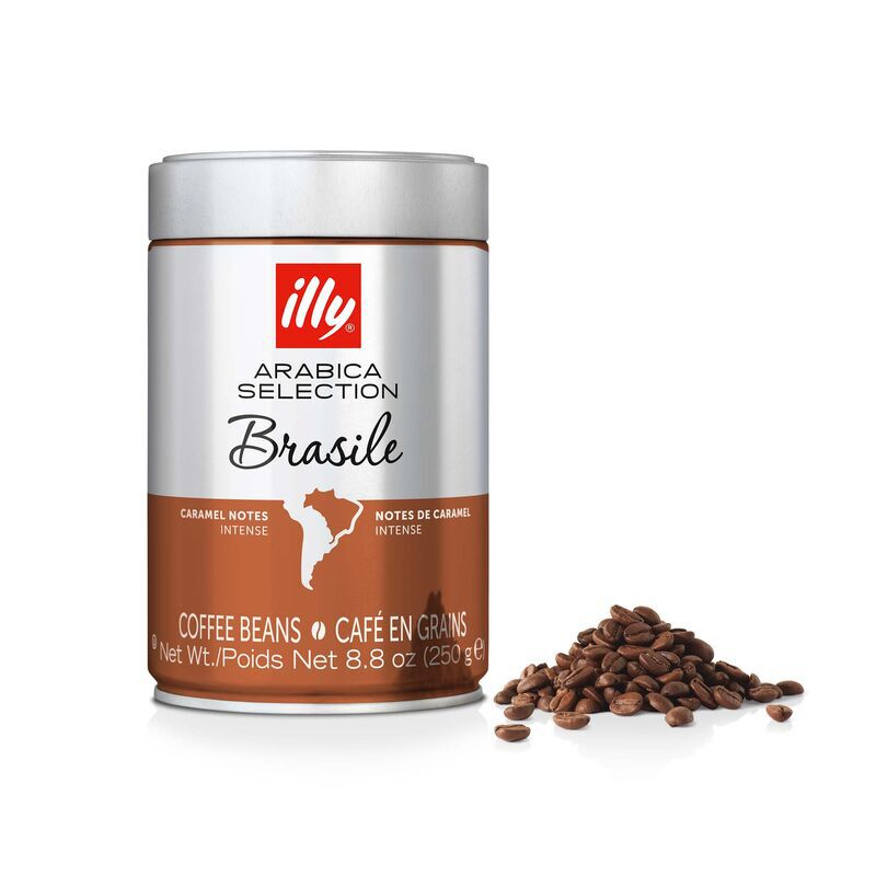 Whole Bean - Arabica Selection Brasile - 8.8oz Can - illy