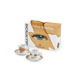 illy Art Collection Max Petrone - 2 tazzine da Caffè espresso