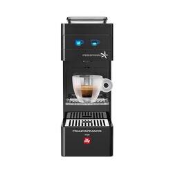 Francis Francis Y3 Espresso Capsule Machine Black front view