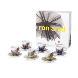 illy Art Collection Ron Arad - 6 Xícaras de Cappuccino