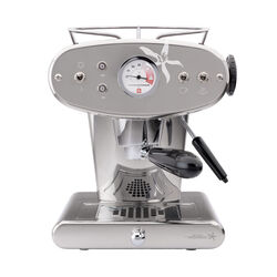Francis Francis X1 Stainless Steel Espresso Machine front view