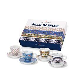 Gillo Dorfles Set of 4 Cappuccino Cups