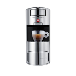 illy X9 iperEspresso Machine - Espresso Capsules - Chrome - center