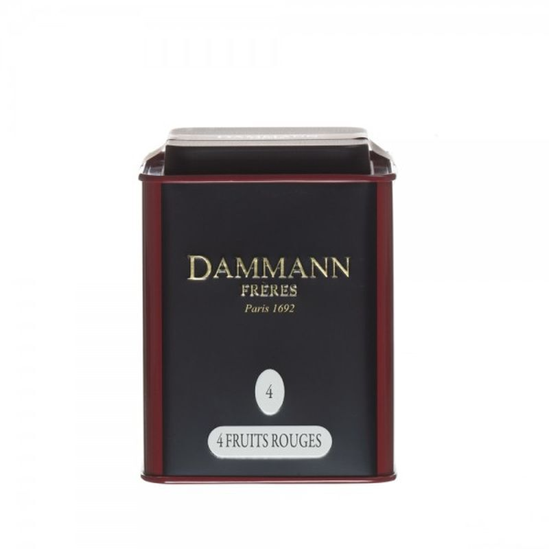 Dammann® Four Fruits Rouges Loose Tea - 3.52oz Tin - illy