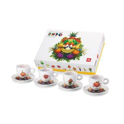 illy Foody Collection Cappuccino cups