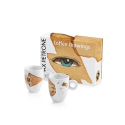 Max Petrone illy Art Collection Mug Set