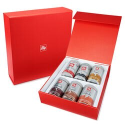 illy Whole Bean Sampler 6 Can Gift Set. illy eShop.