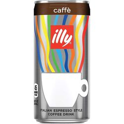 Ready To Drink illy Coffee 6.8 oz Can Front View