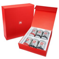 illy Drip Coffee 6-Pack Variety Gift Set Front View