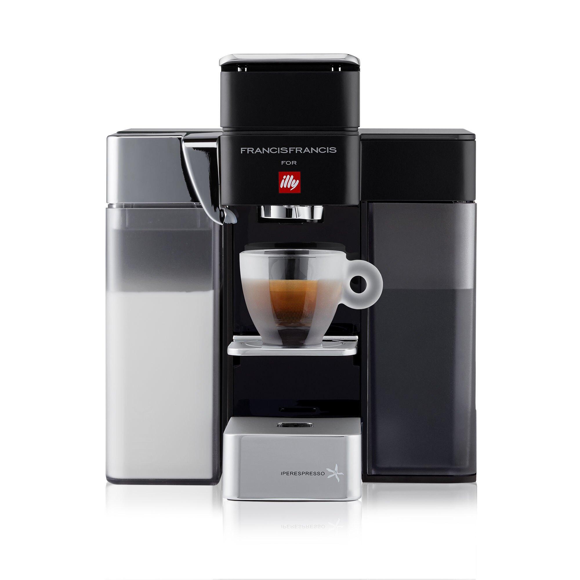 Y5 iperEspresso Milk Espresso & Coffee Machine - illy eShop