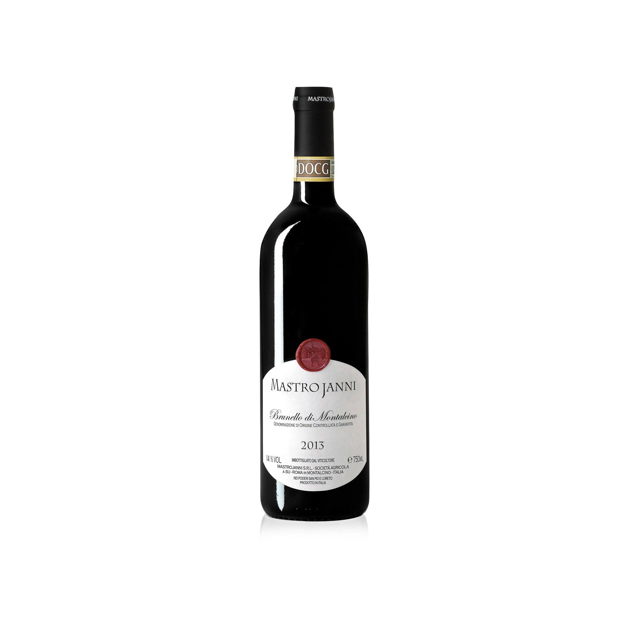 Vino Mastrojanni Brunello di Montalcino annata 2013 in bottiglia da 750ml