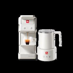 Kit Paquete Espumador de Leche y Máquina de Café Y3.3