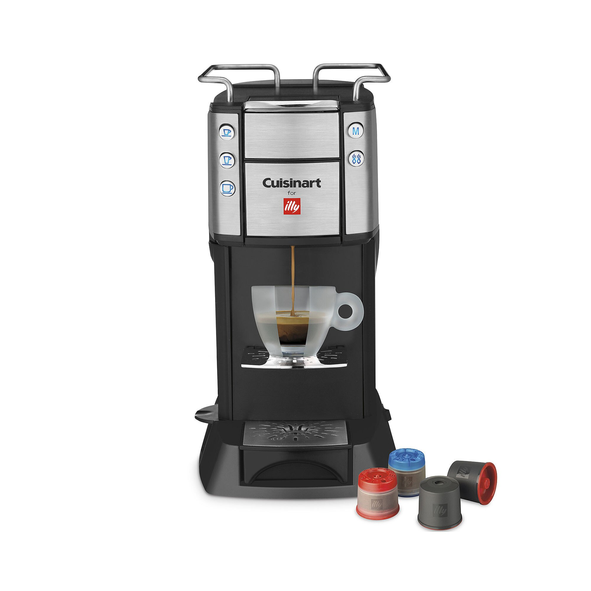 Cuisinart for illy single serve coffee machine illy eshop cuisinart for illy single serve front view geotapseo Gallery