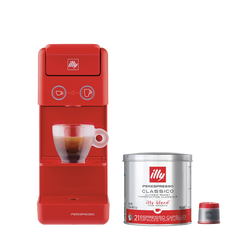 *COMBO* Máquina de Café illy Y3 Vermelha 120v + 1 lata de cápsula iperespresso