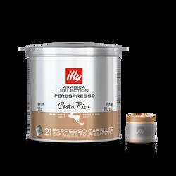 Café en cápsulas Iperespresso Arabica Selection Costa Rica
