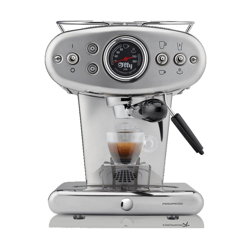 X1 Anniversary - Macchina da Caffè Iperespresso in acciaio inox
