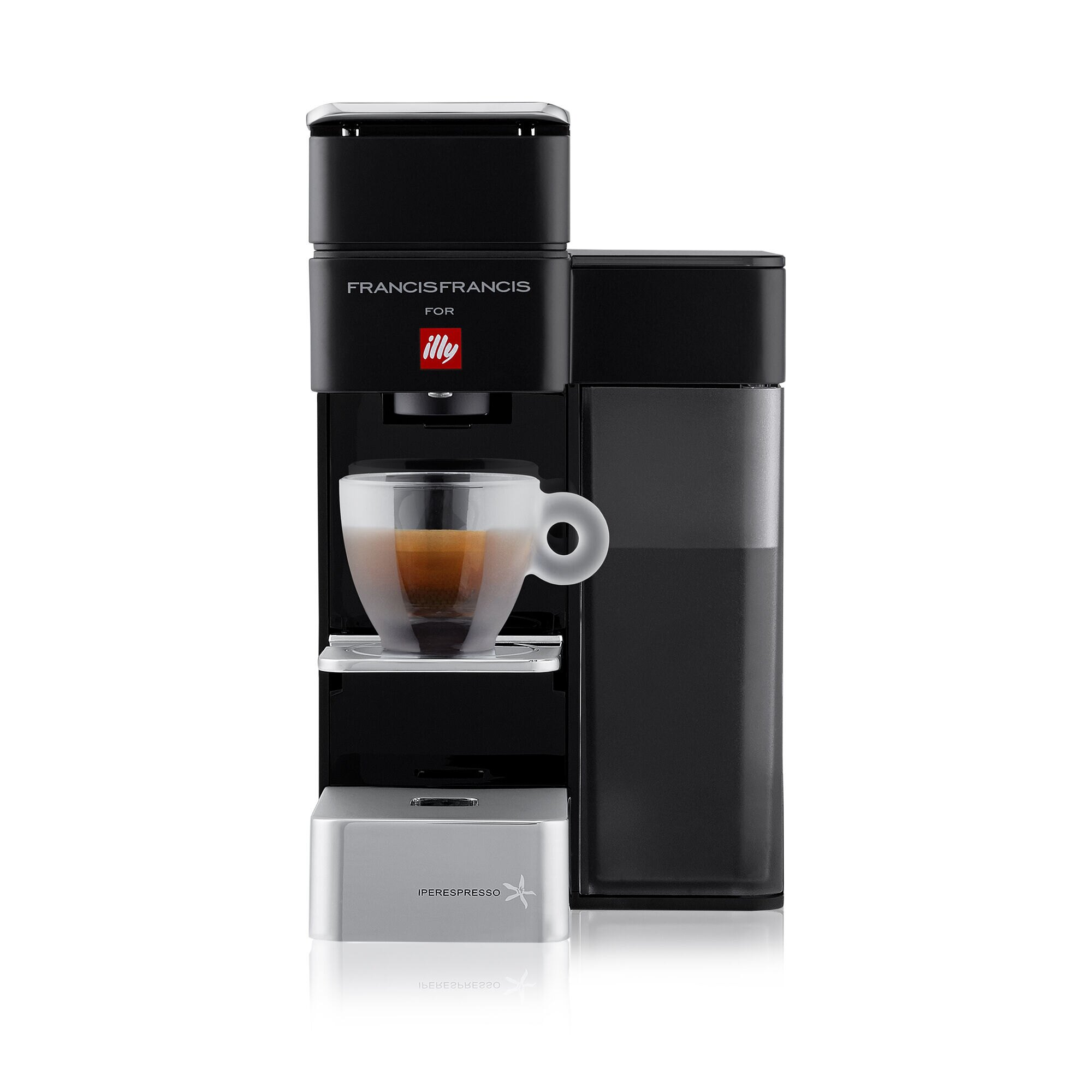 Y5 Espresso&Coffee nera - Macchina da Caffè Iperespresso