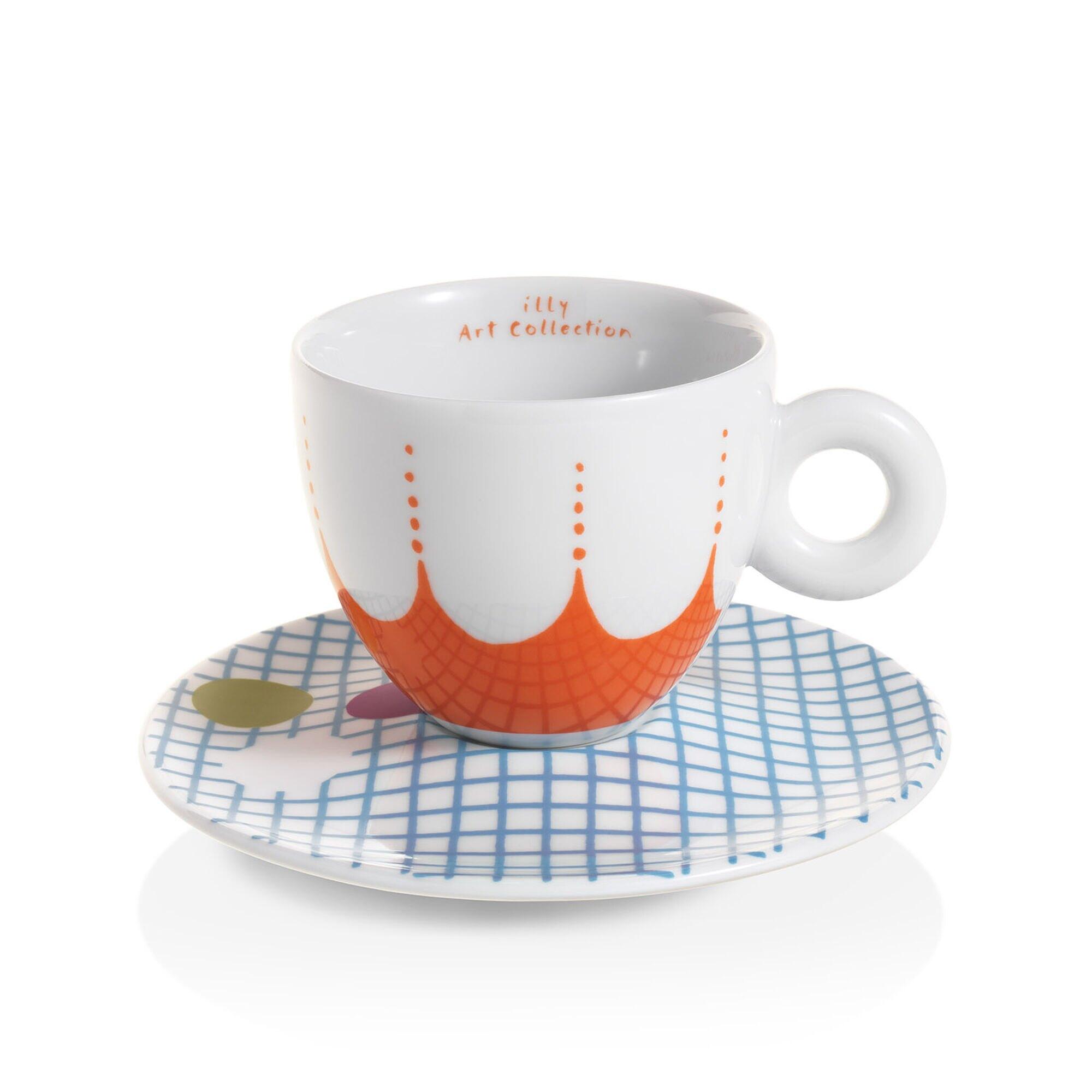 Caffe Milano illy Caffe Kaffee Becher Mug Tasse 300ml