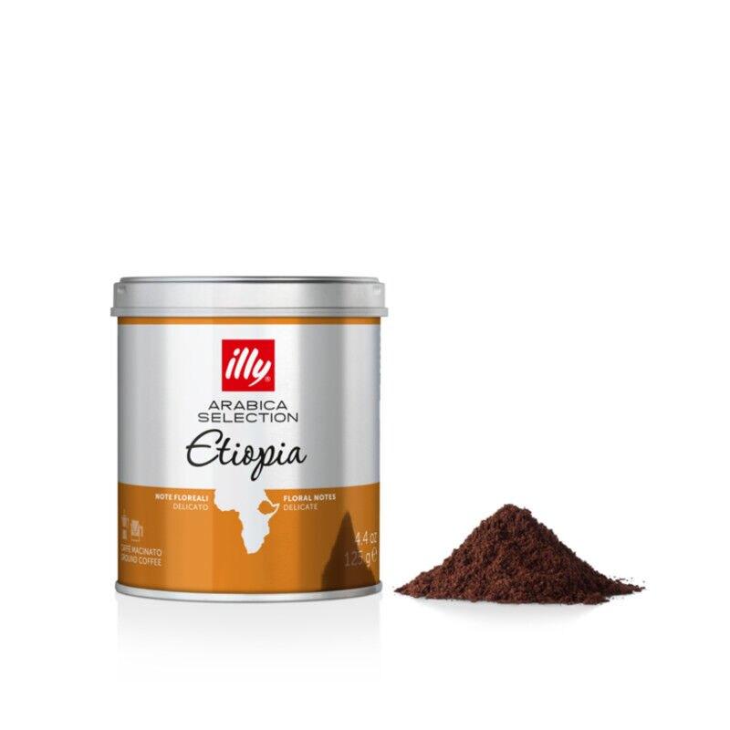 Ground Espresso Arabica Selection Ethiopia Coffee -125g
