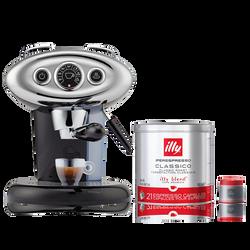 *COMBO* Máquina de Café illy X7.1 120v Preta + 1 lata de Café illy Cápsula iperEspresso Clássico