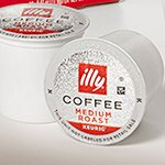 illy K-Cup® pods brew single serving coffee capsules for Keurig® K-Cup® Machines