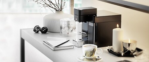 Gourmet coffee machine for corporate by illy