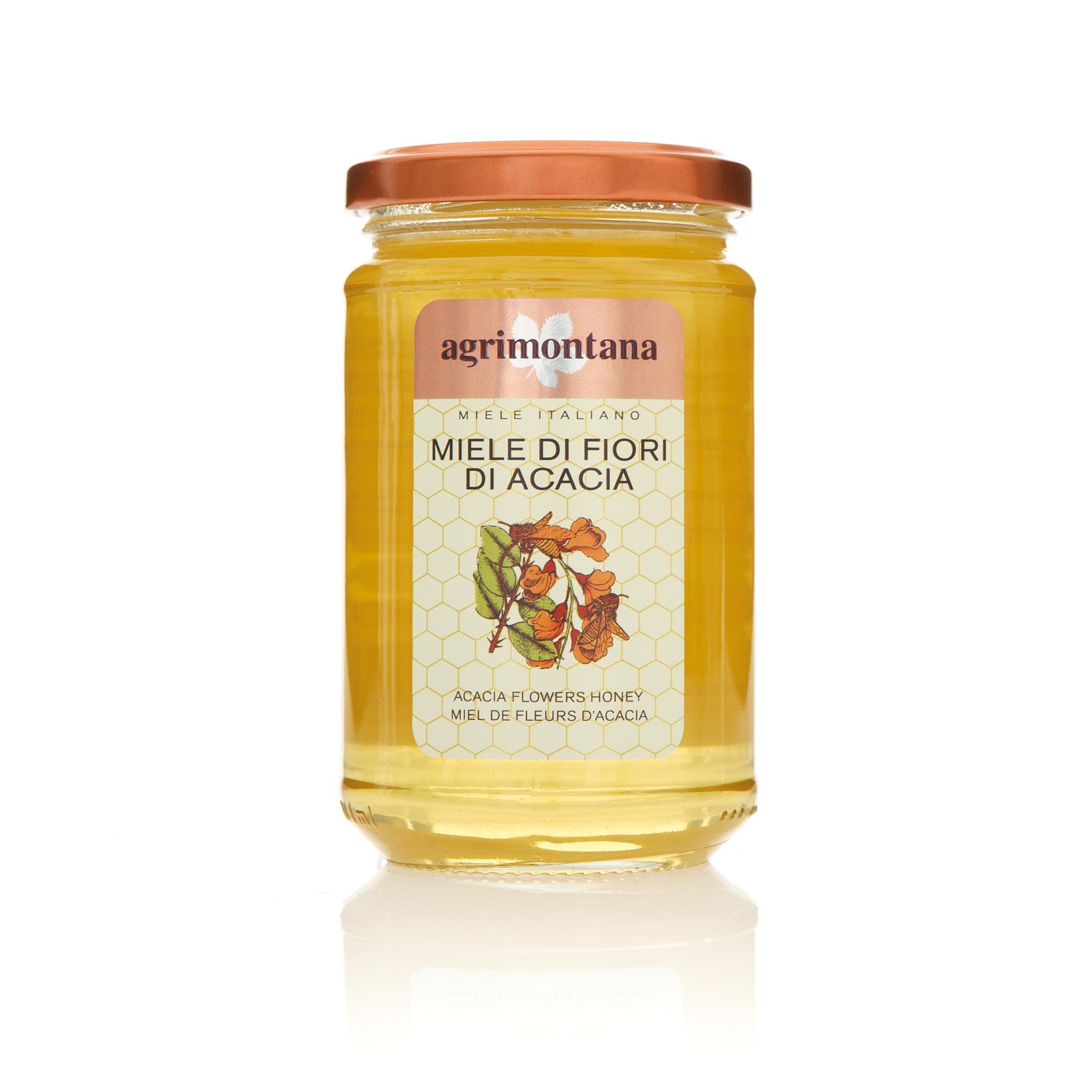 Agrimontana Acacai Honey Front View