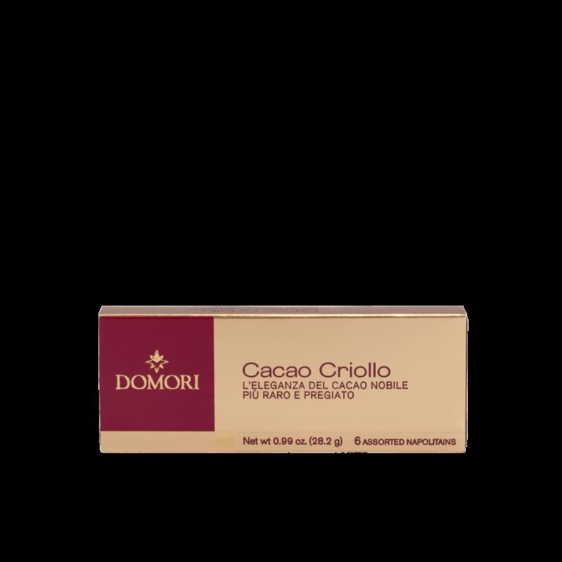 Napolitains Domori Criollo da 28gr