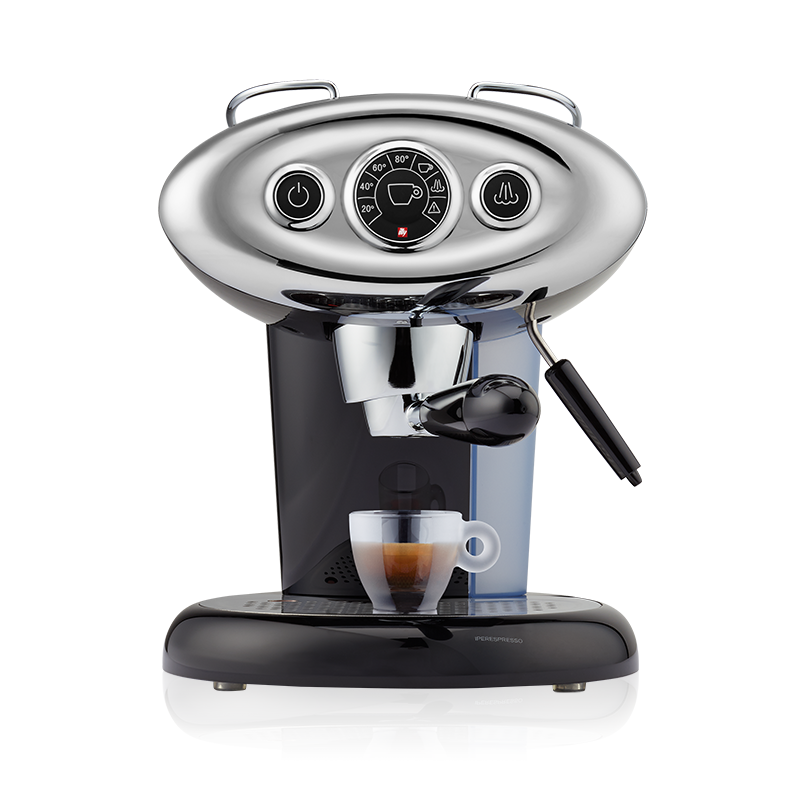 illy X7.1 iperEspresso Machine - Espresso Capsule - Black - Front