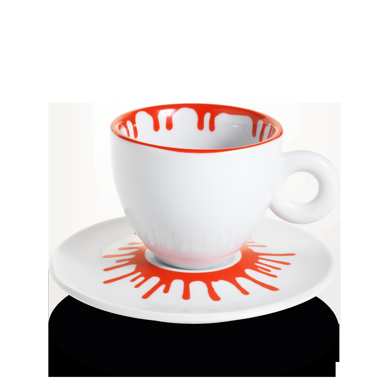 Tasses à cappuccino Ai Weiwei - Coffret 4 tasses