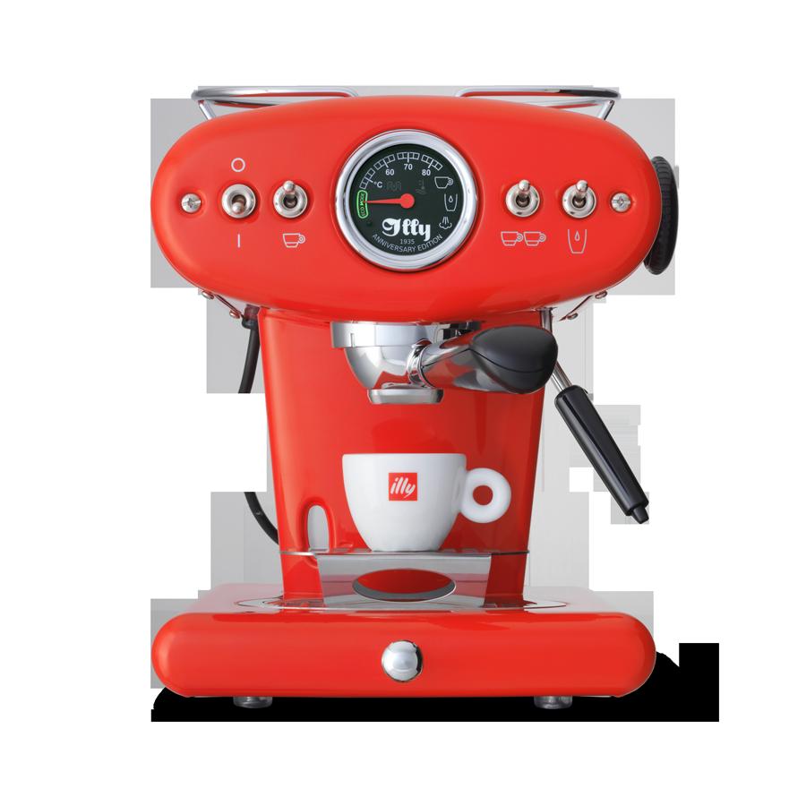 X1 Anniversary Kaffeemaschine für Pads und gemahlenen Kaffee