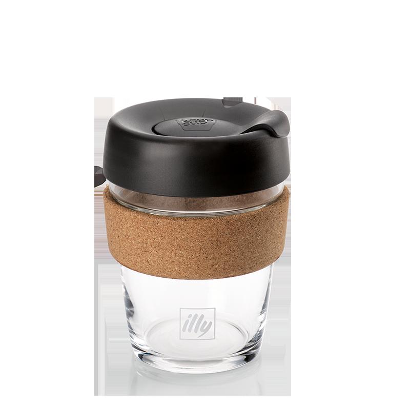 Glass KeepCup Travel Mug 350ml - Travel Coffee Cup