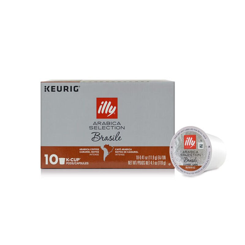 K-Cup® Pods - Arabica Selection Brasile - 10 K-Cup® Pods - illy