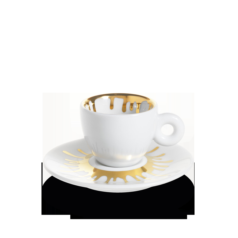 Set da 4 tazzine da caffè espresso - illy Art Collection Ai Weiwei