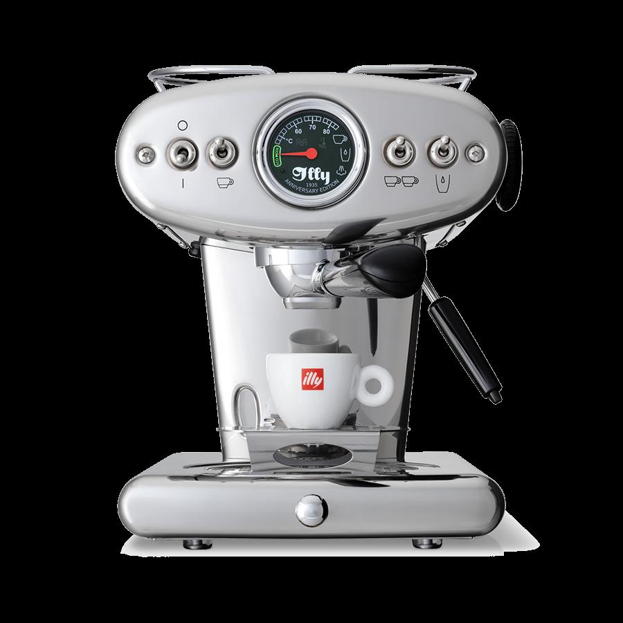 Ground Coffee & E.S.E. Pods Machine - X1 Anniversary