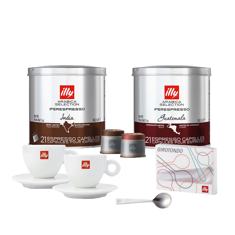 illy Exclusive Espresso Capsule Bundle