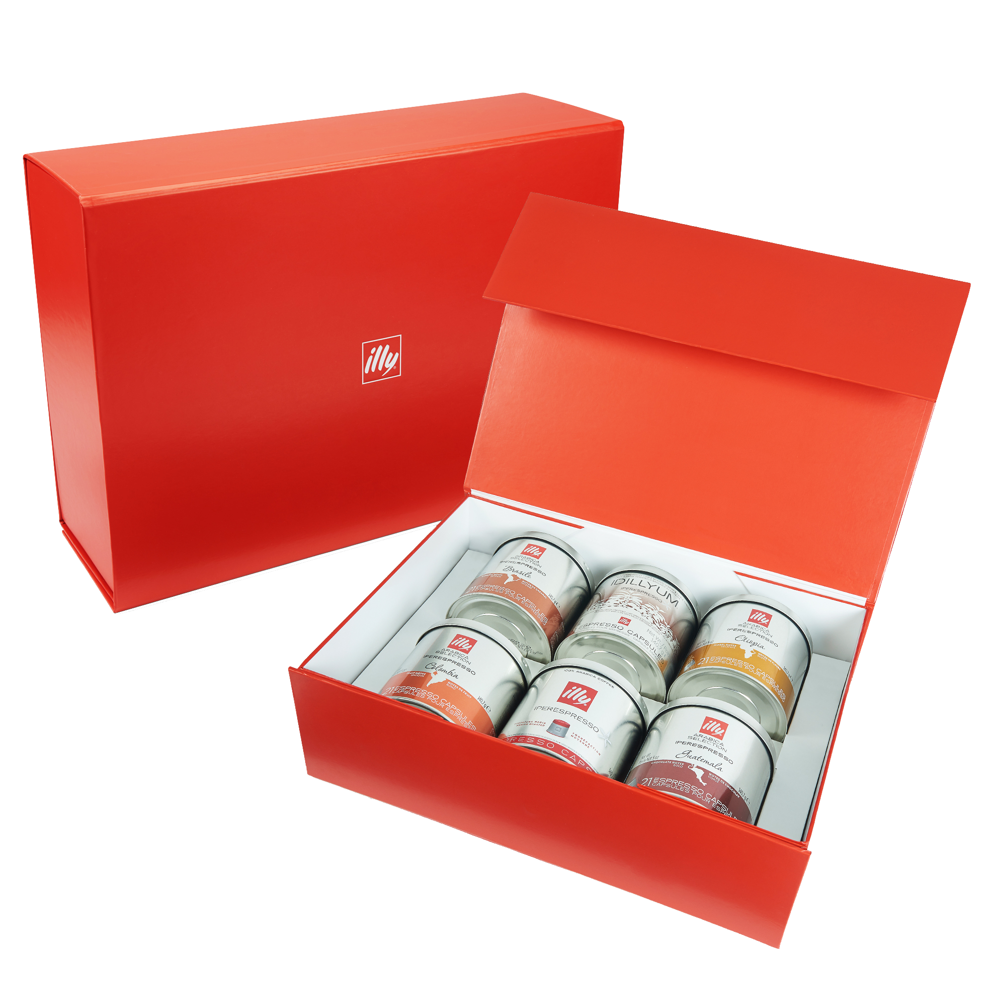 illy Origins of Taste iperEspresso 6-Tin Gift Set