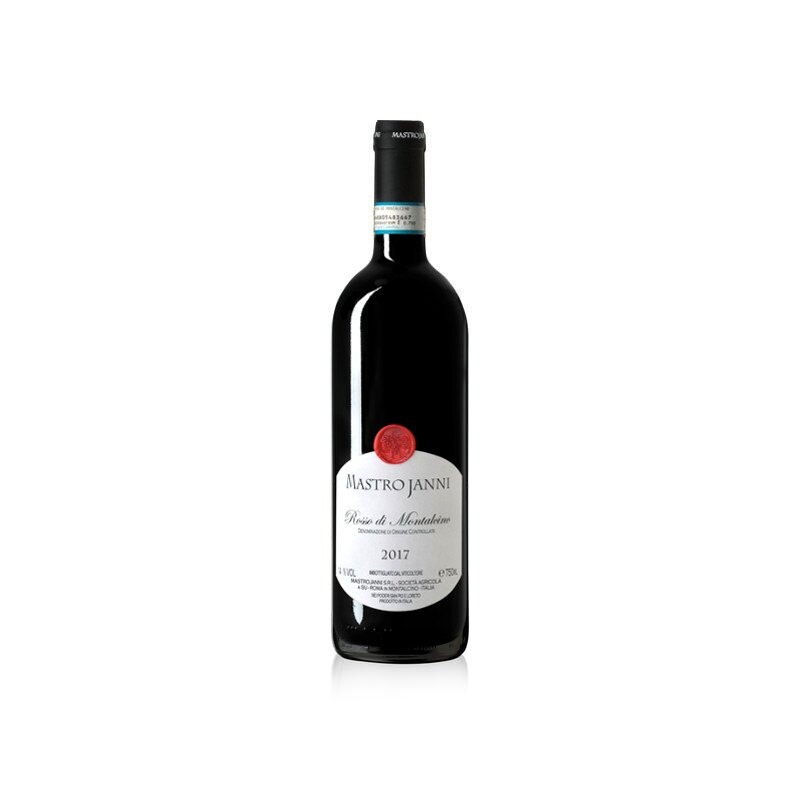 Vino Rosso di Montalcino Mastrojanni annata 2017 in bottiglia da 750ml