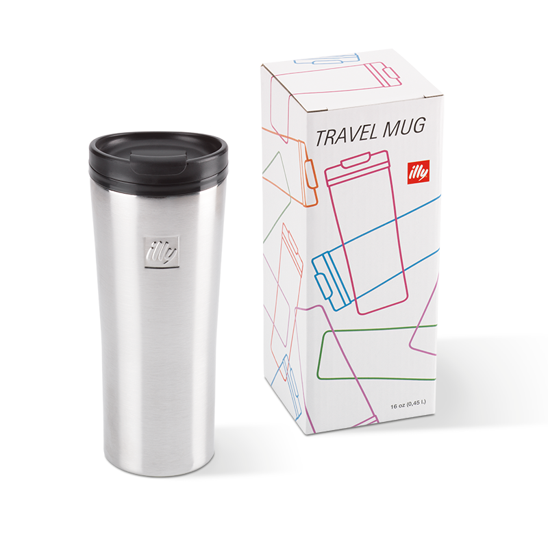 Stainless Steel Travel Mug 450ml - Travel Coffee Cup