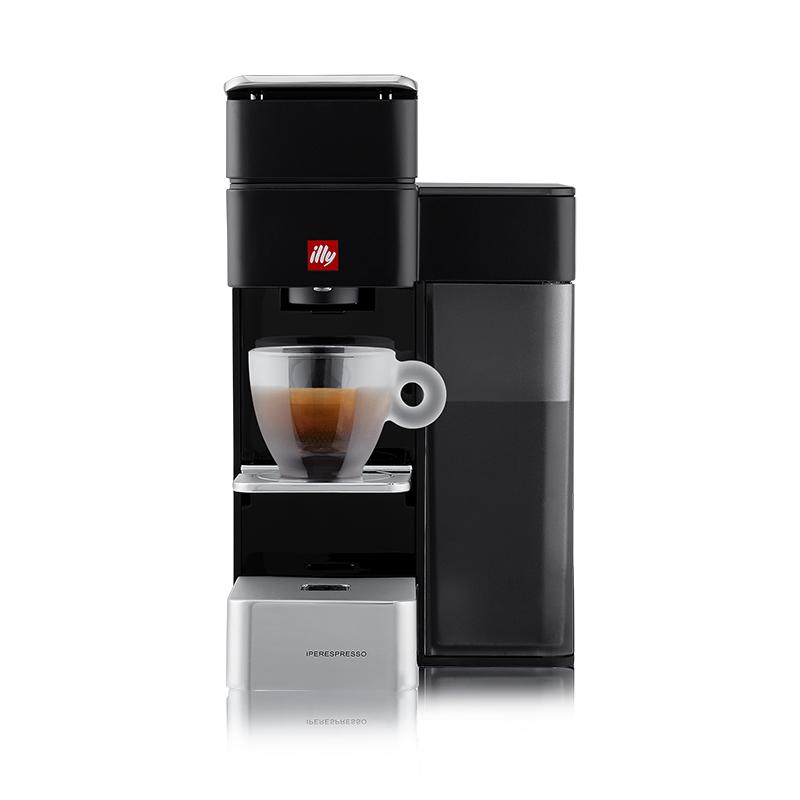 illy Y5 iperEspresso Machine - Espresso & Coffee - Black