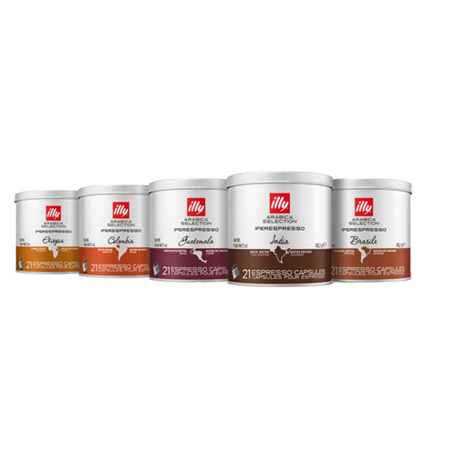 Arabica Selection Origins of Taste iperEspresso 5-Tin Bundle