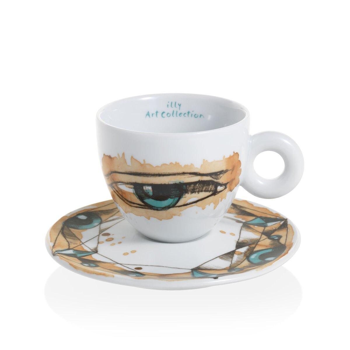 Max Petrone -  6 tasses à café cappuccino