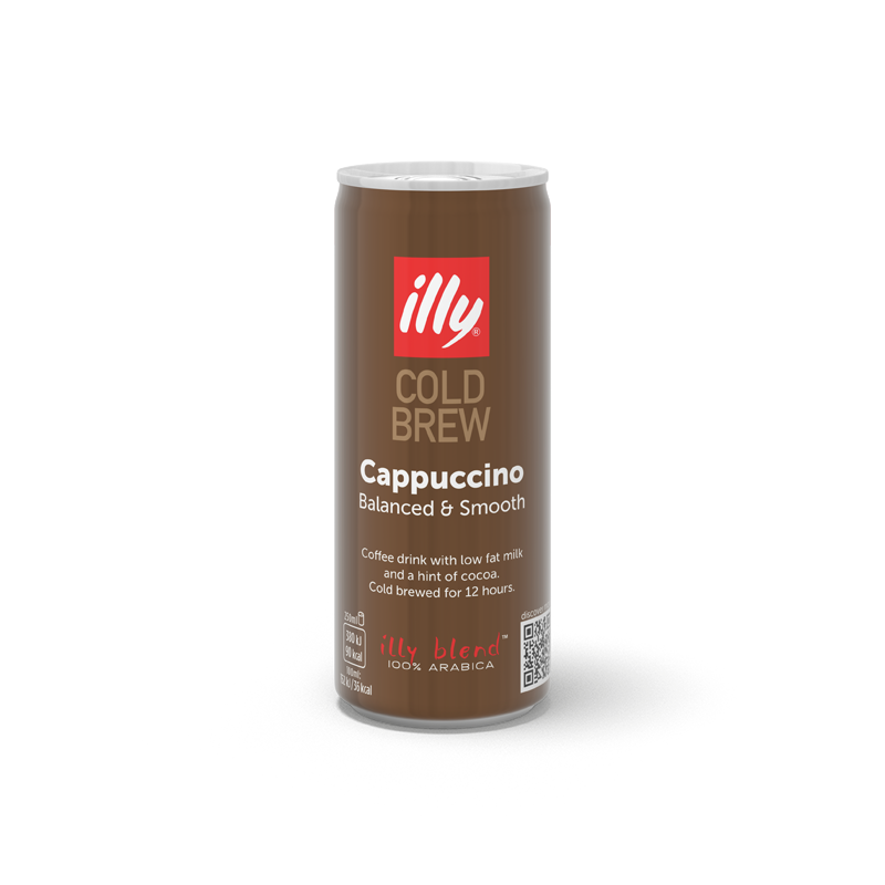 Caffè Cold Brew Cappuccino - illy Ready to Drink