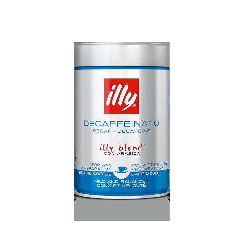 Café moulu espresso décaféiné