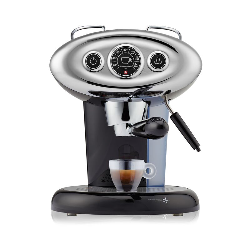 francis francis x7 1 black espresso capsule machine illy eshop. Black Bedroom Furniture Sets. Home Design Ideas