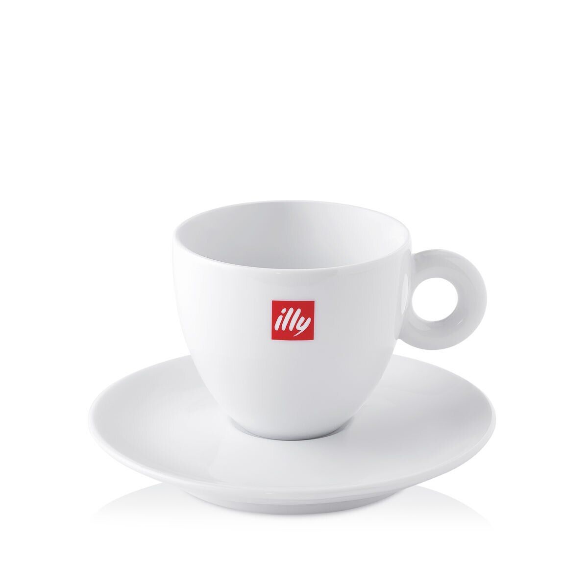 illy Trio of Cups Gift Set - One Espresso Cup, One Cappuccino Cup & One Mug - cup
