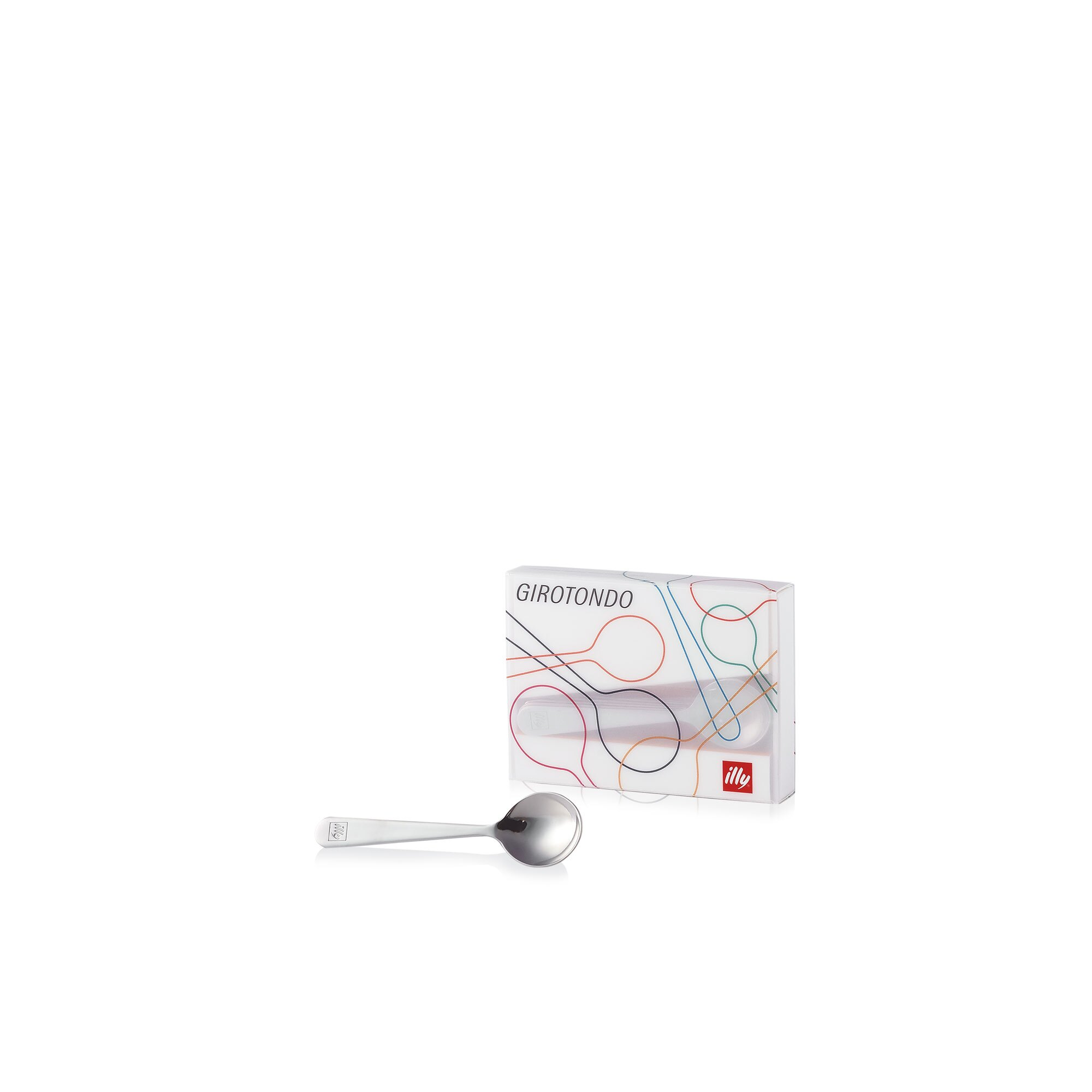 illy Logo Embossed Spoons 104mm - Pack of 6