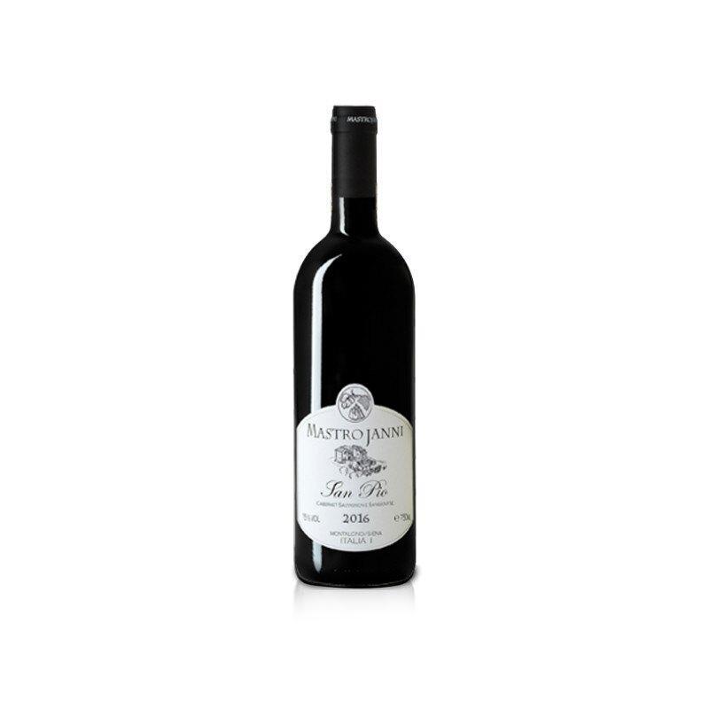 Vino Mastrojanni San Pio annata 2016 in bottiglia da 750ml